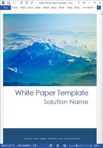 Video: How to Write a Technology White Paper