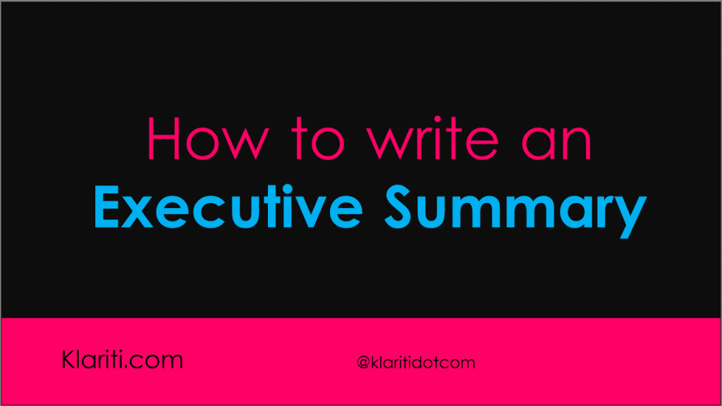 executive-summary-how-to-write