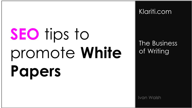 guidelines for writing a white paper Writing sequence to follow, as well as writing types, vocabulary and spelling, citations this resource will explain these writing a white paper guidelines issues and.