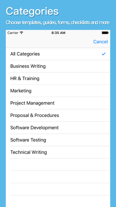 klariti-template-store-app-categories