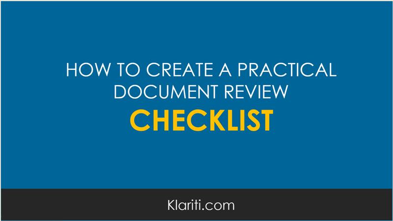 document-review-checklist