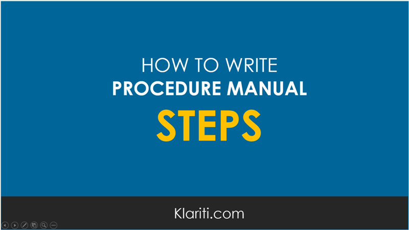 procedure-manual-steps