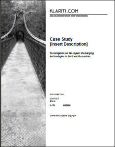 How to Structure a Business Case Study