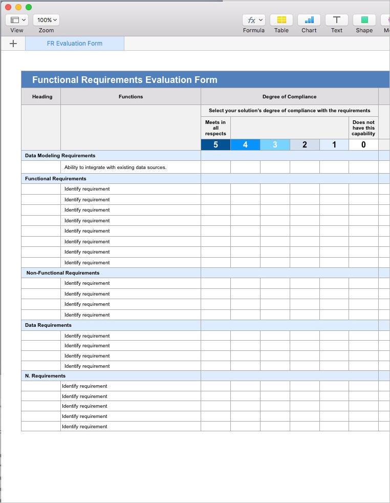 Apple iwork templates instant download for Functional requirements template software development