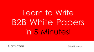 How To Make 127k Writing White Papers