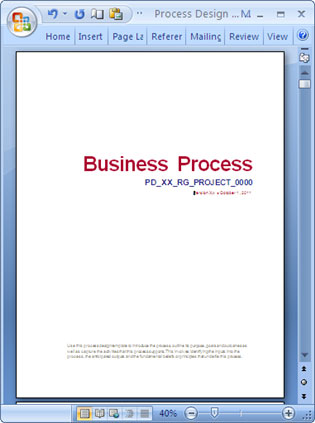 Business process design templates ms word excel visio microsoft word business process template fbccfo Gallery