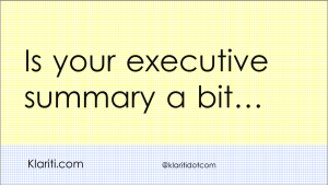 How to Write the Executive Summary for Business Plans – Part 2