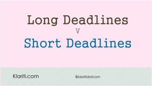 Project Manager's Dilemma: Soft Deadlines v Hard Deadlines?
